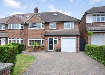 Thumbnail 5 bed semi-detached house for sale in Bluebridge Avenue, Brookmans Park, Hatfield