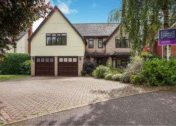 Thumbnail 5 bed detached house for sale in Clarke Close, Palgrave, Diss