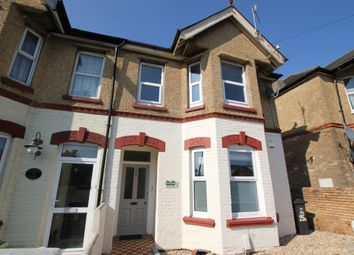 Thumbnail 2 bed flat for sale in North Road, Parkstone, Poole