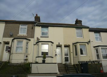 Thumbnail 2 bedroom terraced house to rent in Mayfield Avenue, Dover