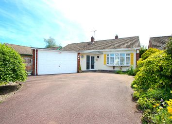 Thumbnail 3 bed bungalow for sale in Harene Crescent, Kirby Muxloe, Leicester