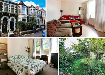Thumbnail 3 bed terraced house for sale in Clun Terrace, Roath, Cardiff