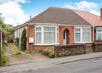 Thumbnail 2 bedroom semi-detached bungalow for sale in Ramnoth Road, Wisbech