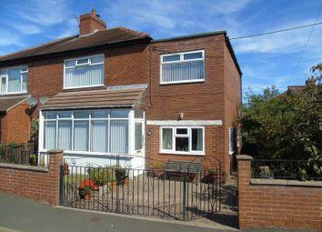 Thumbnail 4 bedroom semi-detached house for sale in Lenore Terrace, Greenside, Ryton