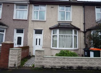 Thumbnail 3 bed terraced house for sale in Malpas Road, Newport, Gwent.