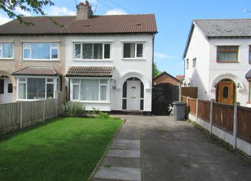 Thumbnail 3 bed semi-detached house to rent in 42 Eastham Rake, Eastham, Wirral