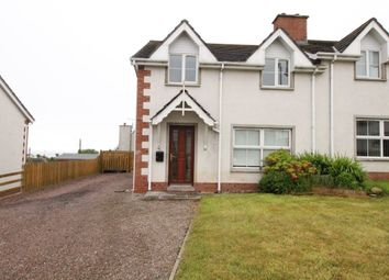 Thumbnail 3 bedroom semi-detached house to rent in Seaview Court, Portavogie, Newtownards