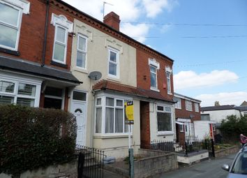 Thumbnail 2 bed terraced house to rent in Wigorn Road, Bearwood, Smethwick