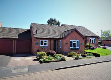 Thumbnail 2 bed terraced bungalow for sale in Wallis Close, Thurcaston, Leicester