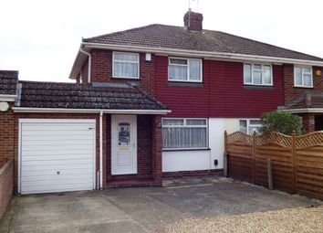 Thumbnail 2 bed semi-detached house to rent in Antrim Road, Woodley, Reading