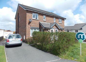 Thumbnail 3 bed semi-detached house for sale in Foxglove Close, Launceston