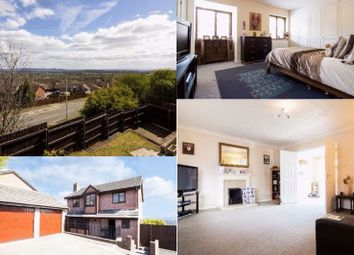 Thumbnail 4 bed detached house for sale in Hawkes Ridge, Ty Canol, Cwmbran