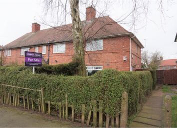 Thumbnail 3 bed semi-detached house for sale in Welstead Avenue, Nottingham