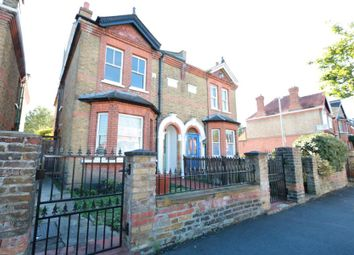 Thumbnail 4 bed semi-detached house to rent in Ellerton Road, Tolworth, Surbiton