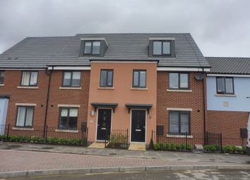 Thumbnail 3 bed town house for sale in Mallard Way, Sprowston, Norwich