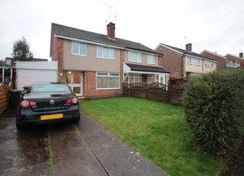 Thumbnail 3 bed semi-detached house to rent in Elm Grove, Malpas, Newport
