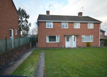 Thumbnail 3 bed semi-detached house for sale in Churchside, Calow, Chesterfield