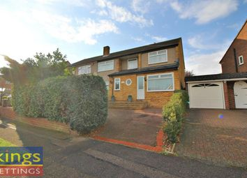 Thumbnail 5 bed semi-detached house to rent in Roselands Avenue, Hoddesdon