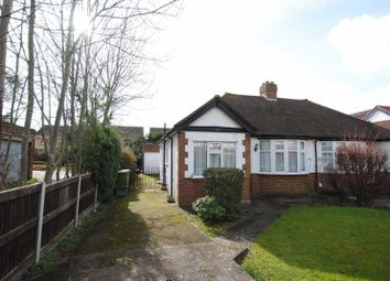 Thumbnail 3 bed bungalow for sale in Gatley Avenue, West Ewell, Epsom