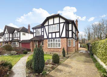 Thumbnail 4 bedroom detached house for sale in Woodcote Hurst, Epsom