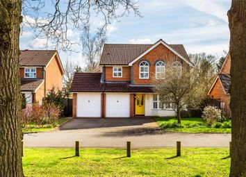Thumbnail 4 bed detached house for sale in Ontario Close, Smallfield, Horley, Surrey