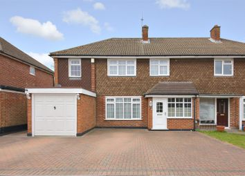 Thumbnail 3 bed semi-detached house for sale in Marion Close, Bushey