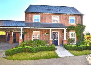 Thumbnail 3 bed detached house for sale in Felstead Crescent, Stansted
