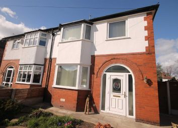 Thumbnail 3 bed semi-detached house to rent in Cumberland Road, Urmston, Manchester