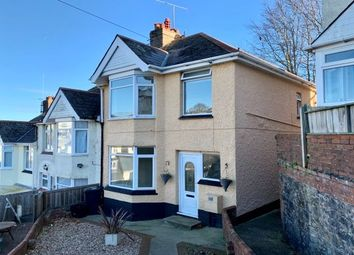 Thumbnail 3 bed semi-detached house to rent in Stansfeld Avenue, Paignton