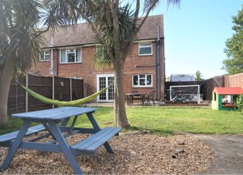 Thumbnail 3 bed end terrace house for sale in Kings Road, Hayling Island