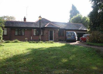 Thumbnail 4 bed detached bungalow for sale in Gynsill Lane, Anstey, Leicester