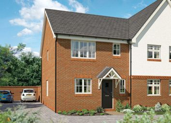 "Thumbnail 2 bed semi-detached house for sale in ""The Brampton"" at Newington Road, Stadhampton, Oxford"