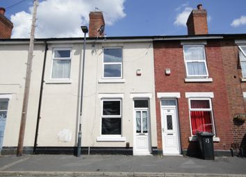 Thumbnail 2 bed terraced house to rent in Holcombe Street, Derby