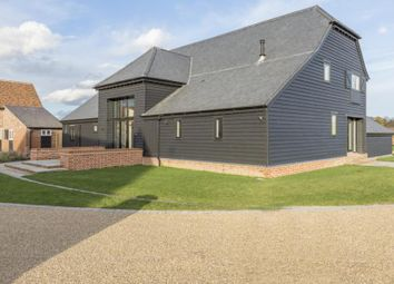 Thumbnail 4 bed barn conversion for sale in Old Lodge Court, White Hart Lane, Chelmsford, Essex