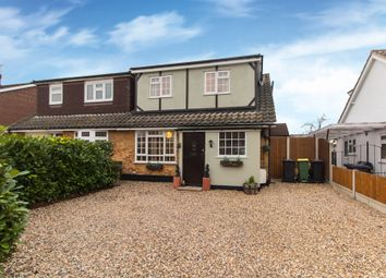 Thumbnail 4 bed semi-detached bungalow for sale in Abbey Road, Hullbridge