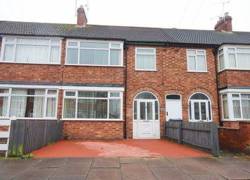 Thumbnail 3 bed terraced house to rent in Shropshire Road, Leicester