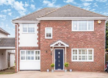 Thumbnail 4 bed detached house for sale in Ripley Road, Cottingham, Market Harborough