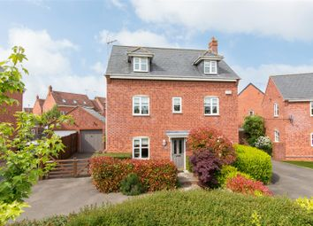 Thumbnail 4 bed detached house for sale in Martin Crescent, Ruddington, Nottingham