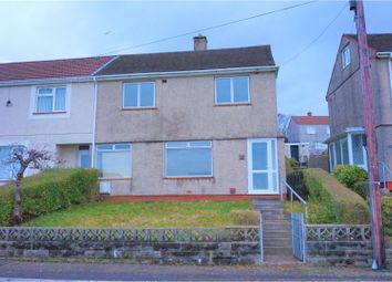 Thumbnail 2 bed semi-detached house for sale in Penderry Road, Penlan