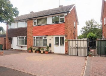 3 bed semi-detached house for sale in Linford Close, Wigston LE18