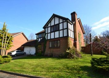 Thumbnail 4 bed detached house to rent in Grey Alders, Banstead
