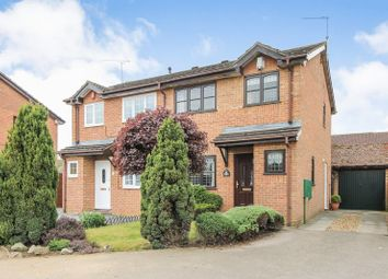 Thumbnail 3 bed semi-detached house for sale in Harlestone Close, Luton