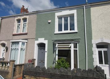 Thumbnail 3 bedroom terraced house to rent in Marlborough Road, Brynmill, Swansea.