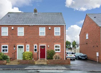 Thumbnail 3 bed semi-detached house for sale in Cross Street, Chase Terrace, Burntwood