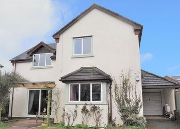 Thumbnail 4 bed detached house for sale in Station Road, Cullompton