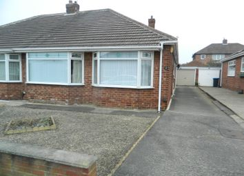 Thumbnail 2 bed semi-detached bungalow to rent in Aylton Drive, Middlesbrough