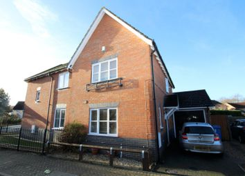 Thumbnail 3 bedroom semi-detached house to rent in Hurricane Place, Ipswich