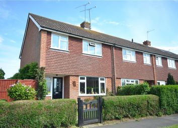 Thumbnail 3 bedroom end terrace house for sale in Bow Drive, Sherfield-On-Loddon, Hook