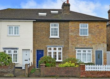Thumbnail 3 bed terraced house for sale in Walton Road, East Molesey