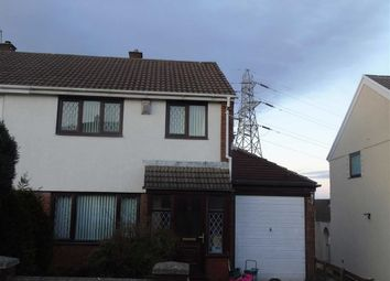 Thumbnail 3 bed semi-detached house for sale in Heol Pentyla, Llansamlet, Swansea